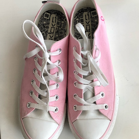 Converse Shoes - Converse style  breast cancer awareness c2ce39ff7